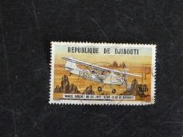 DJIBOUTI YT PA 116 OBLITERE - AERO CLUB AVION PLANE MARCEL BROCHET - Dschibuti (1977-...)