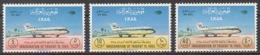 Iraq 1965 Mi# 432-34** IRAQI AIRWAYS, PLANES - Iraq