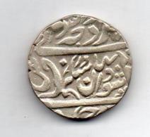 INDE - ALWAR, 1 Rupee, Silver, 1859-65, KM #37 - Inde