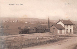 71 - Lacrost - La Gare - Départ Du Train-Tramway - Ligne De Tournus - France