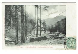 88 VOGES BLAN KUPT (Vallée) Une Scierie (une Petite Fente à Droite) - Sonstige Gemeinden