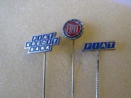 NO Pin's  EPINGLETTE  LOT 3 FIAT - Fiat