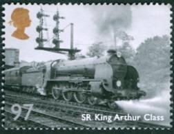 GREAT BRITAIN #3114  -  GREAT BRITISH RAILWAYS - SR KING ARTHUR CLASS 97P  - 2010 - 1952-.... (Elizabeth II)
