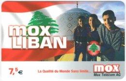 FRANCE C-562 Prepaid Mox - Flag Of Lebanon - Used - Frankreich
