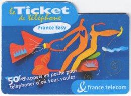 FRANCE C-607 Prepaid Telecom - Cartoon - Used - Frankreich