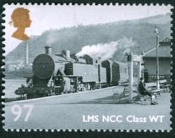 GREAT BRITAIN #3113  -  GREAT BRITISH RAILWAYS - LOCOMOTIVE LMS NCC CLASS WT 97  - 2010 - 1952-.... (Elizabeth II)