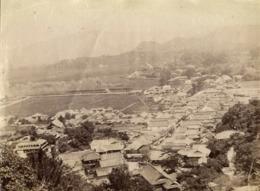 Japan, TAKEO 武雄市, Saga, Panorama (1903) Real Photo - Japan