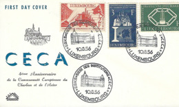 Luxembourg   FDC   10.8.1956  CECA - FDC
