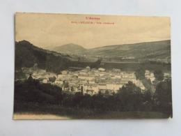 C. P. A. : 09 BELESTA : Vue Générale, Timbre En 1924 - France