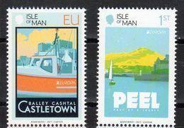 Man Island 2017 Europa  Set 2 Stamps - 2017