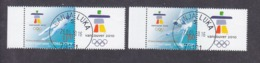 Bosnia And Herzegovina Republika Srpska 2010 Winter Olympic Games - Vancouver Used - Invierno 2010: Vancouver