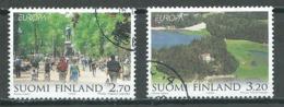 Finlande YT N°1440/1441 Europa 1999 Parc Naturels Nationaux Oblitéré ° - Europa-CEPT