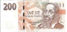 Czech Republic 200 Kc Banknote 2018 - Tchéquie