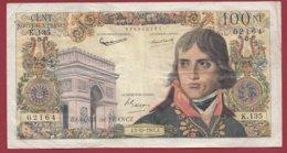 """100 NF """"Bonaparte """" Du 05/10/1961.J ---F/TTB+---ALPH. K.135 - 1959-1966 Franchi Nuovi"""