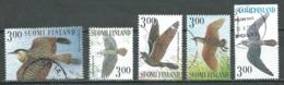 Finlande YT N°1442/1446 Oiseaux Chanteurs Des Nuits D'été Oblitéré ° - Finlande