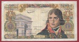 """100 NF """"Bonaparte """" Du 07/03/1963.M ---F/TTB+---ALPH. A.234 - 1959-1966 Nouveaux Francs"""