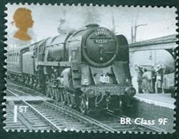 GREAT BRITAIN #3111  -  GREAT BRITISH RAILWAYS - LOCOMOTIVE BR CLASS 9F  - 2010 - 1952-.... (Elizabeth II)