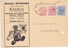 41692 -   Waimes  Lez  Malmédy  Carte Pub - Maison Dechamps Rue De La Brasserie  Waimes - Waimes - Weismes