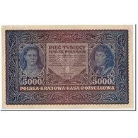 Billet, Pologne, 5000 Marek, 1920, 1920-02-07, KM:31, TTB - Pologne