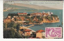 Monaco - Carte Maximum - Le Rocher (1941) - Cartoline Maximum