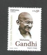 Portugal 2019 - 150 Years Mahatma Gandhi Stamp MNH - 1910-... Republiek