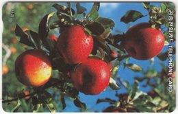 SOUTH KOREA A-405 Magnetic Telecom - Plant, Fruit, Apple - Used - Korea (Zuid)