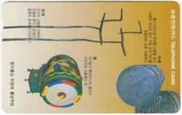 SOUTH KOREA A-488 Magnetic Telecom - Culture, Craft - Used - Korea (Zuid)