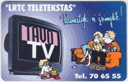 LITUHANIA A-243 Chip Telekomas - Communication, TV - Used - Litouwen