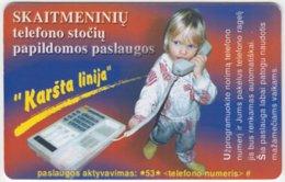 LITUHANIA A-330 Chip Telekomas - Communication, Telephone - Used - Litauen