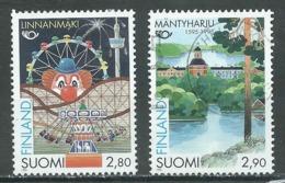 Finlande YT N°1268/1269 Norden 95 Tourisme Dans Les Pays Nordiques Oblitéré ° - Finland