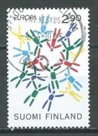 Finlande YT N°1255 Europa 1995 Paix Et Liberté Oblitéré ° - Europa-CEPT
