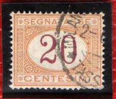 ITALIA REGNO - 1894 - CIFRE AL CENTRO - 20 CENT. - USATO - 1878-00 Humbert I.