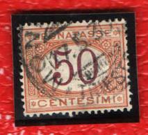 ITALIA REGNO - 1890 - CIFRE AL CENTRO - 50 CENT. - USATO - 1878-00 Humbert I.