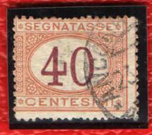 ITALIA REGNO - 1890 - CIFRE AL CENTRO - 40 CENT. - USATO - 1878-00 Humbert I.