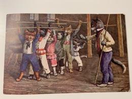 Carte Postale Chats Humanisés ARTHUR THIELE? TSN Série 2031 - 1900-1949