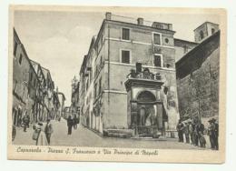 CAPRAROLA - PIAZZA S.FRANCESCO E VIA PRINCIPI DI NAPOLI - NV  FG - Viterbo