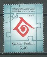 Finlande YT N°1234 Année Internationale De La Famille Oblitéré ° - Finland