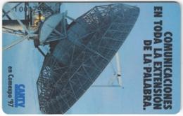 VENEZUELA A-577 Chip CanTV - Communication, Satellite Dish - Used - Venezuela