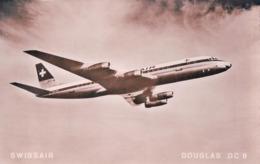 Aviation, Avion Douglas DC-8 De Swissair (2237) - 1946-....: Era Moderna