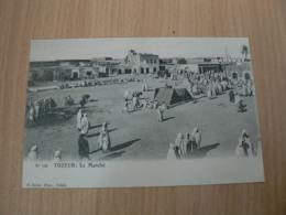 CP 136 / TUNISIE / TOZEUR LE MARCHE / CARTE NEUVE - Tunisia