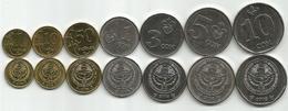 Kyrgyzstan 2008/09. Set Of 7 High Grade Coins - Kirgizië