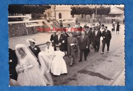 Photo Ancienne - MOSTAGANEM  - Jour De Mariage - Graffiti De L' OAS Sur Un Mur - Période Guerre D' Algérie - Afrika