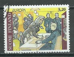Finlande YT N°1299 Europa 1996 Femmes Célèbres Oblitéré ° - Europa-CEPT
