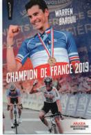 CYCLISME TOUR  DE  FRANCE  WARREN BARGUIL - Cyclisme