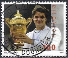 Switzerland 2007 - Mi 2006 - YT 1932 ( Tennis : Roger Federer ) - Used Stamps
