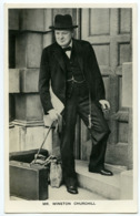 WINSTON CHURCHILL - ADVERT : SUNDAY DISPATCH ARTICLES - POSTED 1940 - People