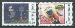 Finlande YT N°1346/1347 Europa 1997 Contes Et Légendes Oblitéré ° - Europa-CEPT