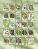 HR 2019-1406-26 SPECIAL POLICE UNITS, CROATIA HRVATSKA, 1 X 21v, MNH - Croatie