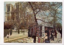 PARIS, Notre-Dame Et Les Bouquinistes, 1974 Used Postcard [23535] - Notre Dame De Paris
