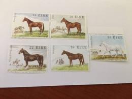Ireland Irish Horses Mnh 1981 - 1949-... Republic Of Ireland